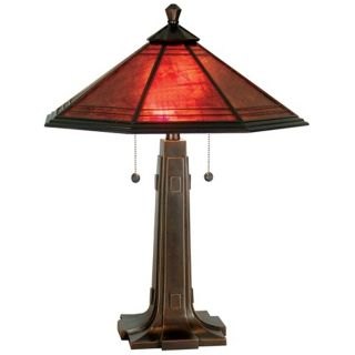 Camillo Dale Tiffany Table Lamp   #X2701