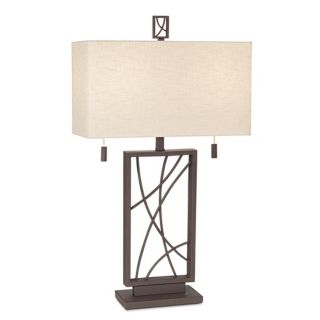 Crossroads Open Base Table Lamp   #P7473