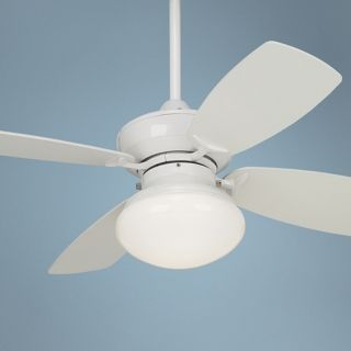 "36"" Outlook White Ceiling Fan with Light Kit   #M2744"