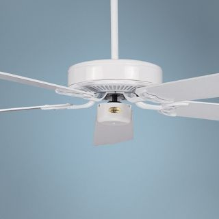 "52"" Concord California Home White Ceiling Fan   #Y3818"