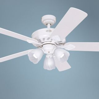 "52"" Westinghouse Autumn Breeze ENERGY STAR White Ceiling Fan   #88403"