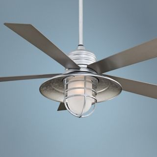 "54"" Minka Aire Rainman Galvanized Ceiling Fan   #X2114"