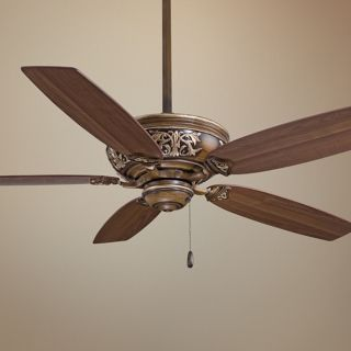 "54"" Minka Aire Classica Belcaro Walnut Finish Ceiling Fan   #U2847"