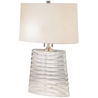 Wells Glass Table Lamp   #J1745