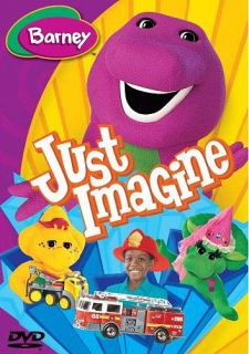 Barney Just Imagine Canadian Release New DVD