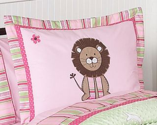 ANIMAL JUNGLE SAFARI GIRL KID FULL QUEEN SIZE BEDDING SET JOJO DESIGN