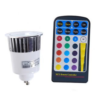 USD $ 49.99   16 Color Remote Controlled LED Light Bulb with Multiple