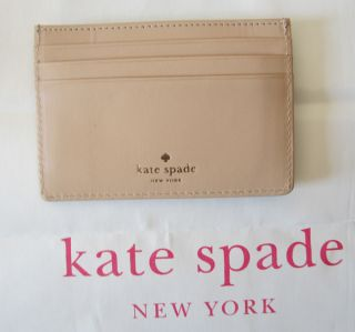 KAT E SPADE EMERALD AVE. GRAHAM CAR D ID HOLDER WALLET