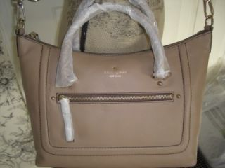 345 Kate Spade Mott Street Small Riley Leather Satchel Dune