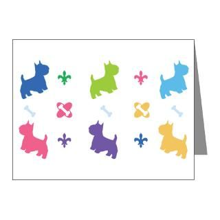 Gifts  Baby Note Cards  Westie Designer Note Cards (Pk of 20