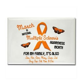 Multiple Sclerosis Awareness Ribbons Magnet  Buy Multiple Sclerosis