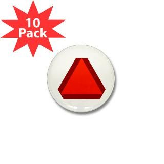 Slow Moving Vehicle Sign   2.25 Button (100 pack)