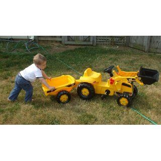 Kettler Cat Kid Tractor with Trailer Cart Ride on Free SHIP Kids Trac