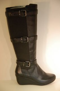 Kenneth Cole Reaction Womens Shoes Your Worth Wedge Riding Boots