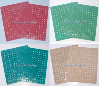 Rubber Kitchen Sink Mat Liner SMALL Size 10 x12 Turquoise Aqua BLUE