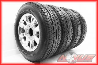 F350 Suderduty FX4 Polished King Ranch Wheels Tires 18 E Rated