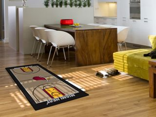 Miami Heat NBA 29 x 54 Large Basketball Court Runner Area Rug Floor