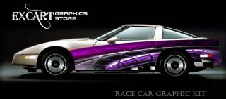 Race Car Graphics Vinyl Decal IMCA Late Model scca 2012