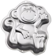 Novelty Cake Pan Monkey 12 75x11 25X2