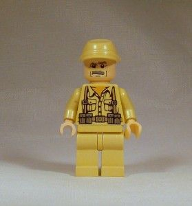 Lego Indiana Jones Minifig   German Soldier #4 Minifigure   Power Buy