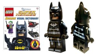Lego DC Super Heroes Batman Visual Dictionary Electro Suit Batman