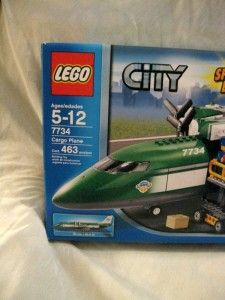 Lego 100 Complete 7734 Special Ed City Transportation Cargo Plane Sold