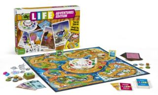 Board Game The Game of Life Adventures Edition Hasbro