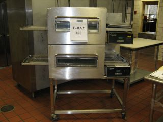 Lincoln Double Deck Conveyor Pizza Oven
