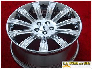 Lincoln MKS 20 Set of 4 Chrome Wheels Rims 3764