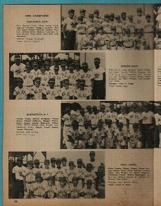 Little League Baseball World Series Yearbook Junior Sports Classics