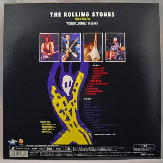LD The Rolling Stones Voodoo Lounge Tour 95 in Japan