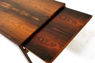 Stunning Danish Modern Rosewood Expandable Coffee Table