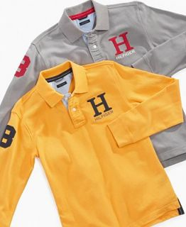 Tommy Hilfiger Kids Shirt, Boys Long Sleeve Phillip Polo