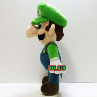 Plush 81/2 Stand Mario E and 9 Luigi E  New Super Mario Bros Plush