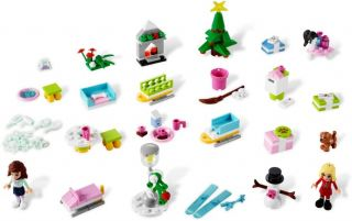 This auction is for Lego Set 3316 Friends Advent Calendar. This