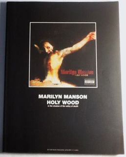 Marilyn Manson Holy Wood Band Score Japan Guitar Tab