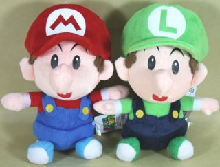 Mario Luigi BB 8Mario Bros Plush Toy Cute Doll Lot 2