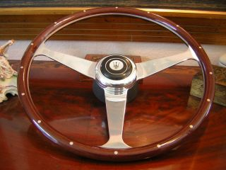 Maserati Biturbo Nardi Wood Steering Wheel New 15