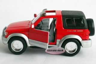 New MITSUBISHI1 24 Pajero Alloy Diecast Model Car Red B228