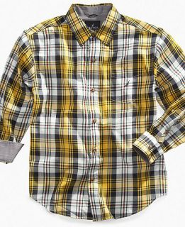Nautica Kids Shirt, Boys Bright Plaid Shirt   Kids Boys 8 20