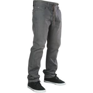 Matix Miner Wax Grey Straight Jeans Men 38 x 33 New $65 Charcoal Skate