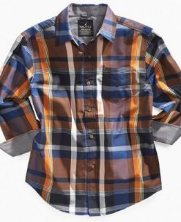 Nautica Kids Shirt, Boys Classic Plaid Shirt