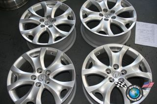 Four 2011 Mazda CX9 Factory 18 Wheels Rims 64944 CX7 9965177580