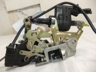 OEM DRIVER SIDE FRONT DOOR LOCK ASSEMBLY FROM A 1994 MERCEDES C CLASS