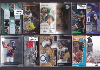 Patch Rookie RC Sports Card Collection Lot Michael Vick RC AU $