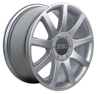 18 Rims Fit Audi RS4 Wheels Silver 18 x 8 5 Set