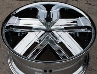 Greed Trapp 935 22 Chrome Rims Wheels Ford Expedition F150 6H