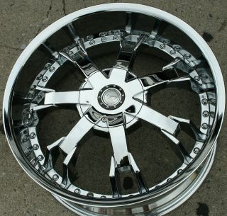 Legacy LG10 20 Chrome Rims Wheels Mercedes C280 C320 C350 20 x 8 5 5H