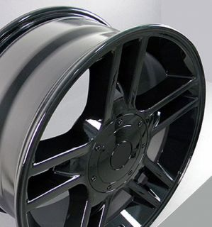 20 Black F150 Black Harley Wheels 20x9 Rims Fit Ford Set