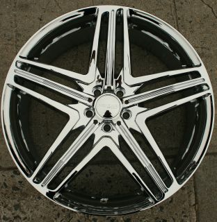 Menzari Z12 20 Chrome Rims Wheels Audi Q5 20 x 8 5 5H 35